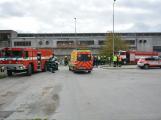 Složky IZS procvičovaly zásah u požáru s výskytem nebezpečné látky (41)