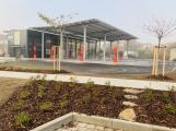 Fotogalerie: Sedlčany dokončují dopravní terminál (3)