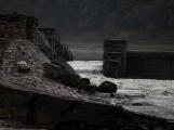 Orlík odhalil zatopené vesnice (14)