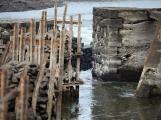 Orlík odhalil zatopené vesnice (1)