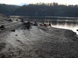 Orlík odhalil zatopené vesnice (2)