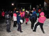 Svatý Martin dorazil do Příbrami. Děti dostaly hromadu sněhu (3)