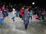 Svatý Martin dorazil do Příbrami. Děti dostaly hromadu sněhu (2)