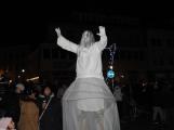 Příbramské náměstí rozzářil vánoční strom ()