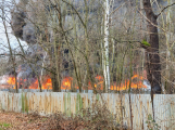 Požár v Sedlčanech napáchal škodu za dva miliony. Příčinou zahoření bylo samovznícení (13)