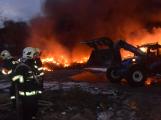 Požár v Sedlčanech napáchal škodu za dva miliony. Příčinou zahoření bylo samovznícení (18)