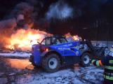 Požár v Sedlčanech napáchal škodu za dva miliony. Příčinou zahoření bylo samovznícení (1)