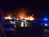 Požár v Sedlčanech napáchal škodu za dva miliony. Příčinou zahoření bylo samovznícení (4)