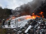 Požár v Sedlčanech napáchal škodu za dva miliony. Příčinou zahoření bylo samovznícení (6)