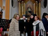 Dudy doprovodily sborový zpěv v kostele (12)