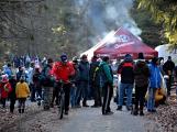 Stovky lidí vystoupaly první den roku na vrchol Třemšína (30)