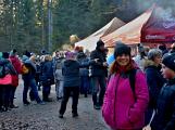 Stovky lidí vystoupaly první den roku na vrchol Třemšína (49)