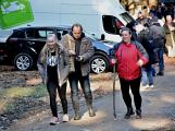 Stovky lidí vystoupaly první den roku na vrchol Třemšína (46)