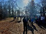 Stovky lidí vystoupaly první den roku na vrchol Třemšína (10)