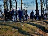 Stovky lidí vystoupaly první den roku na vrchol Třemšína (8)