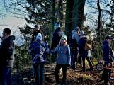 Stovky lidí vystoupaly první den roku na vrchol Třemšína (5)