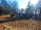 Stovky lidí vystoupaly první den roku na vrchol Třemšína (26)