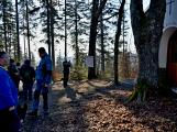 Stovky lidí vystoupaly první den roku na vrchol Třemšína (21)