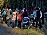 Stovky lidí vystoupaly první den roku na vrchol Třemšína (18)