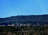 Stovky lidí vystoupaly první den roku na vrchol Třemšína ()
