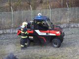Hasiči uvedli do provozu novou čtyřkolku. Její součástí je vysokotlaké hasicí zařízení (9)