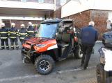 Hasiči uvedli do provozu novou čtyřkolku. Její součástí je vysokotlaké hasicí zařízení (12)