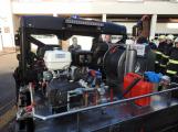 Hasiči uvedli do provozu novou čtyřkolku. Její součástí je vysokotlaké hasicí zařízení (2)