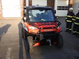 Hasiči uvedli do provozu novou čtyřkolku. Její součástí je vysokotlaké hasicí zařízení (17)