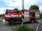 Na příbramském nádraží hoří vlak, škoda se vyšplhala na milion korun (1)