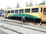 Na příbramském nádraží hoří vlak, škoda se vyšplhala na milion korun (2)