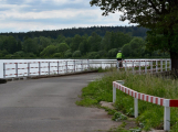 Okolí Padrťských rybníků v posledních týdnech doslova zmodralo ()