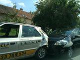 Hromadná havárie v Milínské, srazily se zde 3 vozy (1)