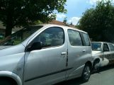 Hromadná havárie v Milínské, srazily se zde 3 vozy (2)