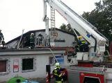 Včerejší požár očima hasičů (1)
