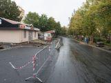 Ulice 28. října je již průjezdná, otestovali ji i školáci ()