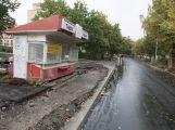 Ulice 28. října je již průjezdná, otestovali ji i školáci (1)