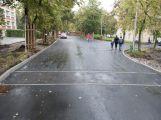 Ulice 28. října je již průjezdná, otestovali ji i školáci (2)