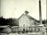 Důl Anna na fotografii z roku 1869. ()