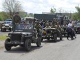 Vojenské kluby si u Slivice připomněly konec války v Evropě (1)