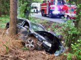 Hasiči z Rožmitálu zasahovali u dopravní nehody v Plzeňském kraji (1)