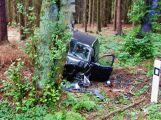 Hasiči z Rožmitálu zasahovali u dopravní nehody v Plzeňském kraji (2)