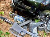 Hasiči z Rožmitálu zasahovali u dopravní nehody v Plzeňském kraji (3)