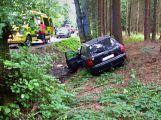 Hasiči z Rožmitálu zasahovali u dopravní nehody v Plzeňském kraji (4)