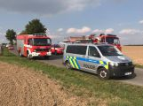 Další nehoda u Březnice. Na železničním přejezdu se srazil vůz s lokomotivou (2)
