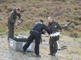 Složky IZS prověřily spolupráci u simulovaného pádu letadla v Brdech (23)