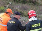 Složky IZS prověřily spolupráci u simulovaného pádu letadla v Brdech (26)