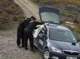 Složky IZS prověřily spolupráci u simulovaného pádu letadla v Brdech (27)