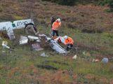 Složky IZS prověřily spolupráci u simulovaného pádu letadla v Brdech (14)