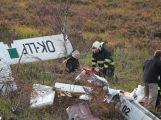 Složky IZS prověřily spolupráci u simulovaného pádu letadla v Brdech (2)