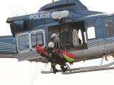 Složky IZS prověřily spolupráci u simulovaného pádu letadla v Brdech (5)